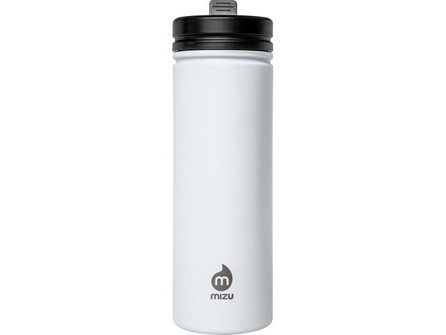 MIZU M9 Bidon z zakrętką na słomkę 900ml, enduro white